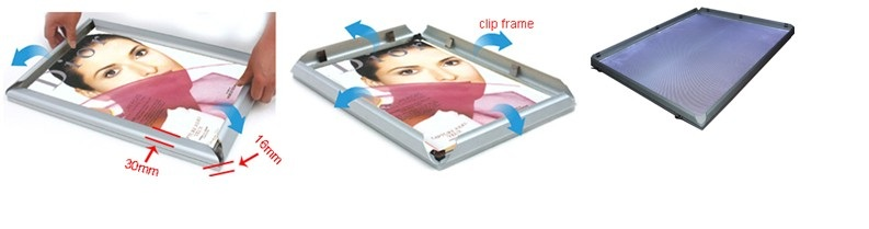 LED Advertising Light Frame Box