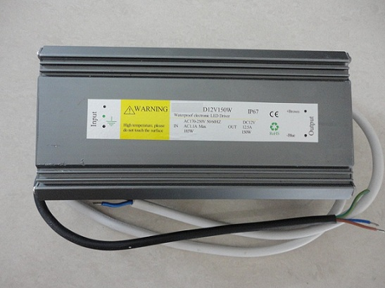 LED Power Supply For DC12V & DC24V Waterproof IP67