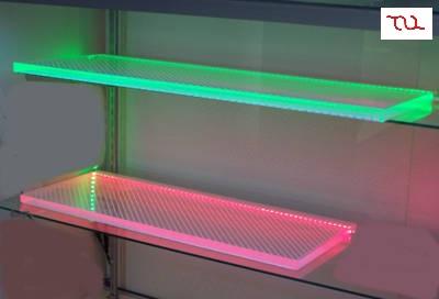 LED Cabinet Acrylic Shelf Lights