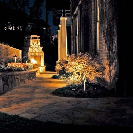 LED Landscape Lights for Structural Buildings and Townships-Lights