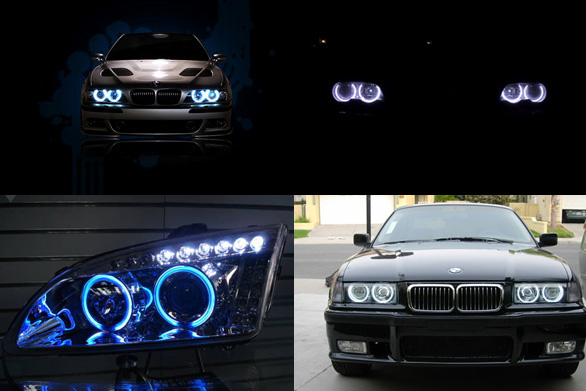 LED Car Angel Eyes Lights