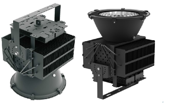 LED Super Bright High Bay Light Cum Flood Light (USA Technology) I Series