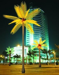 LED Coconut & Palm & Papaya & Iron Trees Y Series Lights