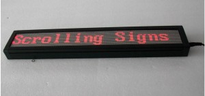 TQ-IN762-16x128-RG   Semi-Outdoor LED Moving Message Window Sign