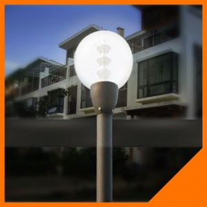TQ-AET05 LED Garden Lights 15W come with 2.5m-4m Pole Height