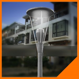 TQ-AET06 LED Garden Lights 30W come with 2.5m-4m Pole Height