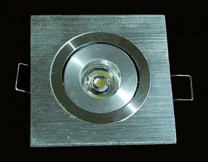 TQ-C1x1-1W  LED Down Lights Square 1W