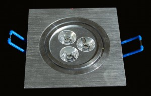 TQ-C3x1-3W  LED Down Lights Square 3W