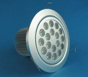 TQ-DL-D1038  LED Dimmable Down Lights 18W