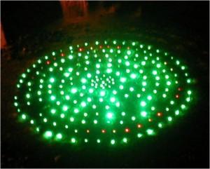 TQ-PEOF-PVC-Waterproof  LED Solid Core End Glow Fiber Light (PVC)