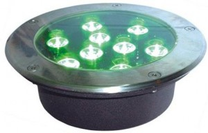 TQ-HM176-9x1W  LED INGROUND LIGHT 9W