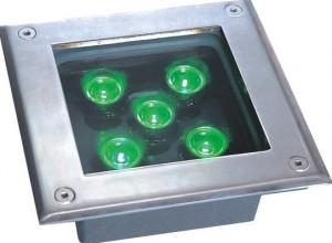 TQ-HM180-5x1W  LED INGROUND LIGHT 5W