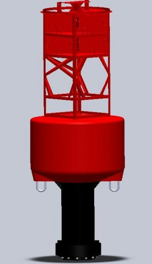 TQ-DWS1-8  LED Solar Buoy Marine Lights