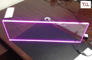 TQ-ALS120x20-15.1W  LED High Power Clear Acrylic Cabinet Light L1200MM 15.1W