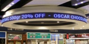 TQ-P6-Indoor LED Moving Message Sign