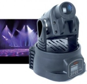 TQ-RS008  LED Mini Moving Head Light   50W (USA LED Technology)
