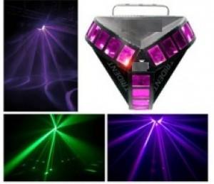 TQ-RS055  LED Three Rainbow Light   20W