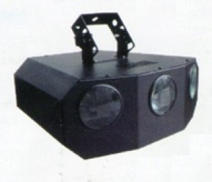 TQ-RS077  LED Three Head Laser Light   9W
