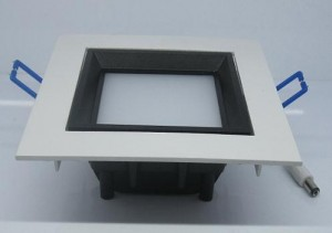 TQ-SP002-7   LED Recessed Panel Down Light 7W