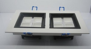 TQ-SP003-8   LED Recessed Panel Down Light 8W