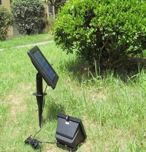 TQ-SFL101-1.5W  LED Solar Outdoor Flood Light