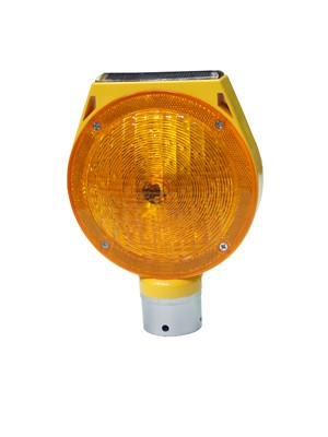 TQ-T188-AS  LED Solar Traffic Candy PC Flash Warning Light
