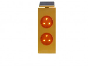 TQ-T348-AS  LED Solar Double Flash Warning Light
