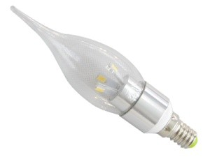 TQ-TBC51-3W  LED High Power Candle Light Bulb 3W