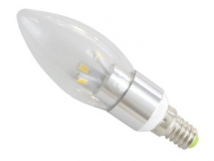 TQ-TBC53-3W  LED High Power Candle Light Bulb 3W