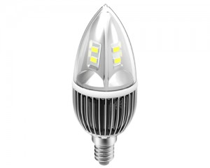 TQ-TBC83-4W  LED High Power Candle Light Bulb 4W