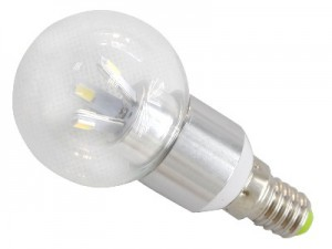 TQ-TBC55-3W  LED High Power Candle Light Bulb 3W