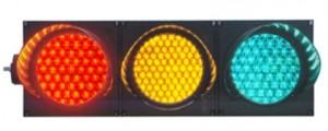 TQ- SJD (1/1W) 200-3-3 LED Full Ball Traffic Light