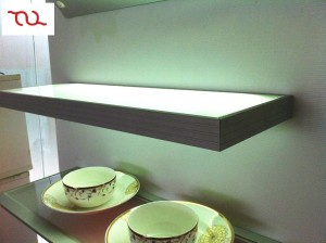 TQ-CFB5006  LED Cabinet Tempered Glass Shelf Light SMD5050 6W