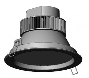 "TQ-DL-D26W 8"" LED Down Lights 26W"