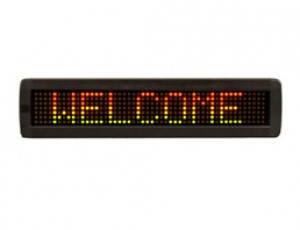 TQ-IN762-7x80-R   LED Indoor Moving Message Sign