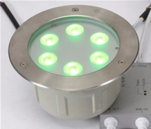 TQ-ING-2E16RGB-18W  LED Inground Light RGB 18W