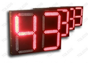 TQ-SDJS-A LED Two Digits in Red Colors Countdown Timer