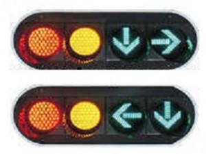 TQ-SJD 200-3-2+FX 200-3-2 LED Driveway Signal Light
