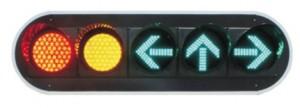 TQ-SJD 200-3-2+FX 200-3-3 LED Driveway Signal Light