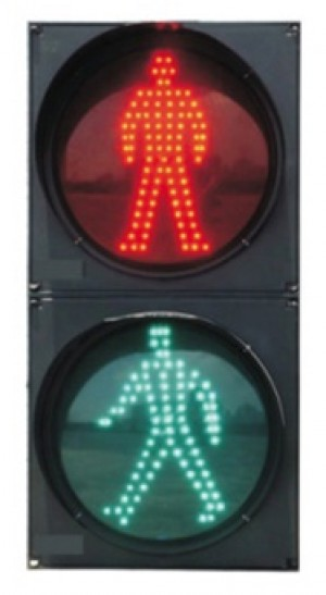 TQ-SRX 200-3-2 LED Pedestrian Traffic Light