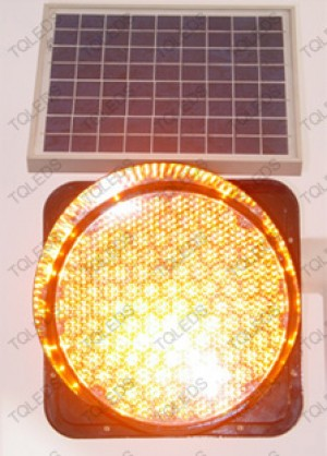 TQ-SSG300-3-T3 LED Solar Warning Light in Yellow Color