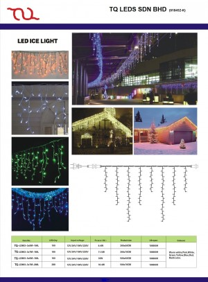 TQ-SD-BD140 LED TREE ICE LIGHTS 140 Bulbs