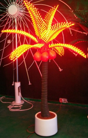 TQ-Y2.4M-Coconut-75W  LED High Power Coconut Tree Light  75W